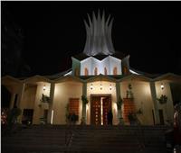 كاتدرائية الأسقفية تتزين بالأضواء احتفالا بعيد القيامة المجيد