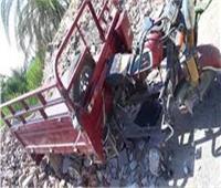 مصرع وإصابة 3 أشخاص في حادث مروري بقنا