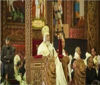 بدء قداس عيد القيامة بالكاتدرائية والبابا تواضروس يترأس الصلاة
