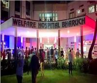 حرائق مستشفيات العزل يزيد مأساة الهند مع كورونا
