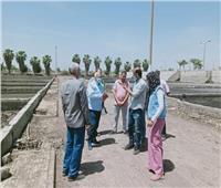 رئيس «مياه المنوفية» يتفقد محطة معالجة أشمون ضمن مبادرة حياة كريمة