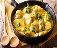 أكلات الشعوب.. طريقة تحضير الدجاج بالكريمة الهندي