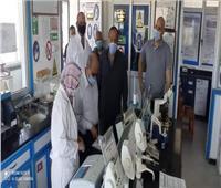 رئيس «مياه الإسكندرية» يتفقد الفروع الإدارية والفنية استعدادًا للصيف