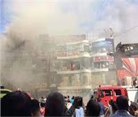 حريق يلتهم 7 محال تجارية في قنا
