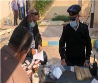 532 مخالفة مرورية وإيجابية سائقين لتحليل المخدرات في أسوان
