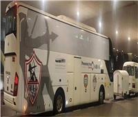 «حافلة الزمالك» تصل ستاد القاهرة استعدادا للقاء بيراميدز