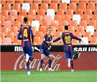 «بشق الأنفس».. برشلونة يعبر فالنسيا ويحافظ على حظوظه في الليجا