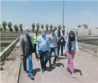 رئيس مياه المنوفية يتفقد أعمال توسعات محطة أشمون ضمن «حياة كريمة»