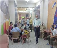 تحرير 35 محضرا لمخالفة الإجراءات الاحترازية بالمنيا | صور