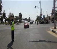 سيولة مرورية بالشوارع والميادين في شم النسيم