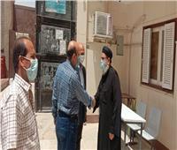 رئيس جهاز «العاشر من رمضان» يزور الكنائس بالمدينة للتهنئة بعيد القيامة المجيد