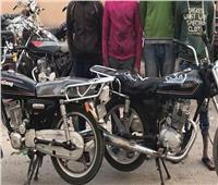 ارتكاب 10 جرائم.. سقوط المتهمين بسرقة الدراجات النارية ببورسعيد