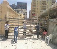 إغلاق شواطىءالعريش في شم النسيم