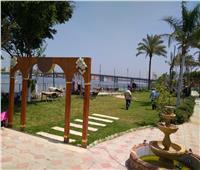 حدائق إدفينا وشاطئرشيد بدون زحام للعام الثاني في شم النسيم