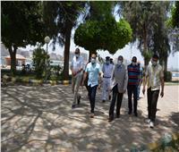 محافظ المنيا يتابع الالتزام بتعليمات مواجهة «كورونا» خلال شم النسيم