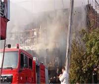 حريق في أرض شركة النحاس شرق الإسكندرية