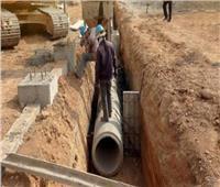 خاص| نسبة تغطية الصرف الصحي بمركز أطفيح بلغت 35٪