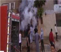 السيطرة على حريق داخل قطعة أرض بدون خسائر بالإسكندرية