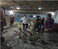غلق 9 مقاهي مخالفة.. ومصادرة 82 شيشة في سوهاج | صور