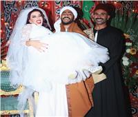 أول تعليق من سمية الخشاب بسبب حفل زفافها على محمد رمضان في «موسى»