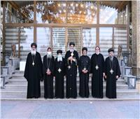 البابا تواضروس الثاني يستقبل لفيف من أحبار الكنيسة للتهنئة بـ«عيد القيامة»
