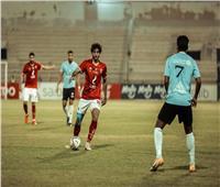 انتهاء المباراة   سقوط جديد للأهلى فى الدورى أمام غزل المحلة