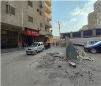 السيطرة على كسر ماسورة غاز في شارع ترسا بالطالبية في الجيزة