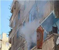 السيطرة على حريق بجوار مستشفى الحميات في المنيا