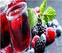 سفرة رمضان  أسهل طريقة تحضير عصير التوت بالرمان في المنزل