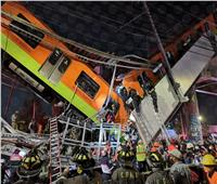 بالفيديو  مصرع وإصابة 85 شخصاً في انهيار جسر قطار مترو معلق بالمكسيك