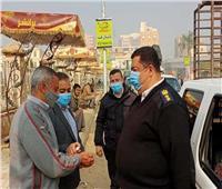 تحرير 114 محضرا لعدم ارتداء الكمامات في بني سويف