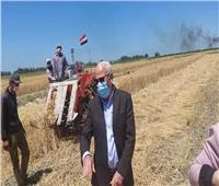 محافظ بورسعيد: انتظام توريد القمح بإجمالي ٣٧١٠ طن للصوامع والمطاحن