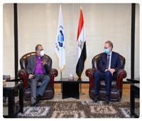 رئيس الطائفة الإنجيلية يستقبل سفير الاتحاد الأوروبي بمصر