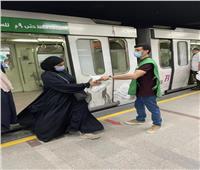 بنك الطعام ووزارة النقل تقديم ١٠٠٠ وجبه يوميًا  للصائمين في محطة مصر والمترو