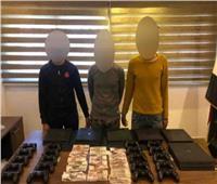 ضبط المتهمين بسرقة أحد المحال التجارية بمدينة نصر
