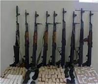 ضبط 56 تاجر سلاح ومخدرات في حملة أمنية بالجيزة