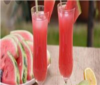 للحماية من الحر.. عصير البطيخ بالموز