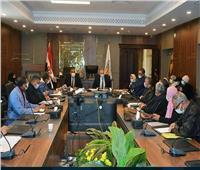 مقعد تسوية المنازعات يواصل جلساته المعتادة بديوان عام المحافظة بطور سيناء