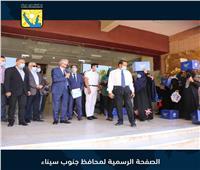 محافظ جنوب سيناء يلتقي عمال وعاملات النظافة بطور سيناء