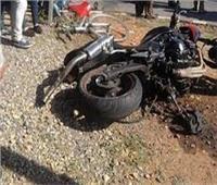 إصابة عامل وسائق بعد تصادم دراجتين بخاريتين في الدقهلية