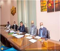 رئيس جامعة طنطا يرأس لجان المتقدمين لشغل مهام إدارية بالمراكز والوحدات