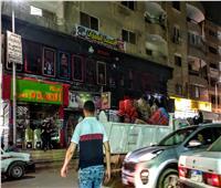 حملة لرفع الإشغالات من الأماكن الغير ملتزمة بحي الهرم