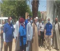 فريق صحي لتوعية المواطنين والمزارعين بالحقوق في المنيا