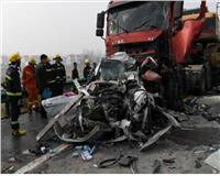 مقتل وإصابة 9 في حادث تصادم شرقي الصين