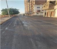 رصف كورنيش النيل بالوليدية شرق مدينة أسيوط بطول 2 كيلو متر