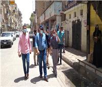 20 مخالفة لعدم التزام المواطنين بارتداء الكمامات بمركز سمالوط بالمنيا