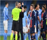 مزاعم بإهانة الحكم للاعبي سان جيرمان