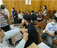 تطعيم أساقفة وقساوسة ورهبان كنائس المنصورة بلقاح «كورونا»