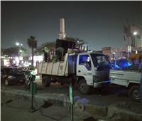 غلق وتشميع كافيهات ومصادرة 197 شيشة في حملات بالعجوزة