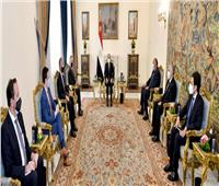السيسي للمبعوث الأمريكي للقرن الأفريقي: سد النهضة قضية وجودية بالنسبة لمصر